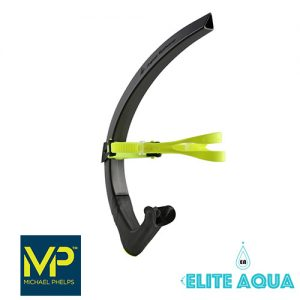 MP Michael Phelps Focus Snorkel Black/Green  吸管 黑黃 (成人)