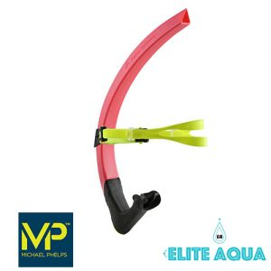 MP Michael Phelps Focus Snorkel Red/Green  吸管 紅緣 (成人)