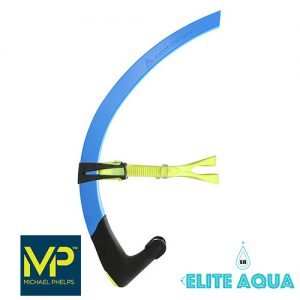 MP Michael Phelps Junior Focus Snorkel Blue/Black 吸管 藍黑 (小童)