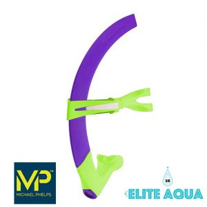 MP Michael Phelps Junior Focus Snorkel Purple/Green 吸管 紫緣 (小童)
